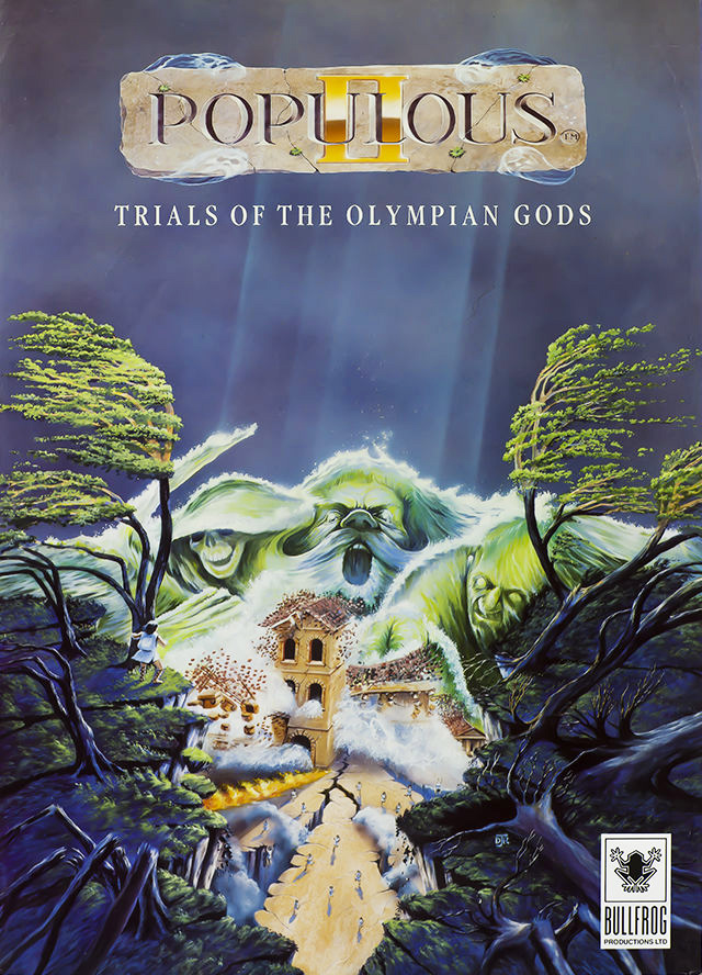 Game cover for Populous II: Trials of the Olympian Gods