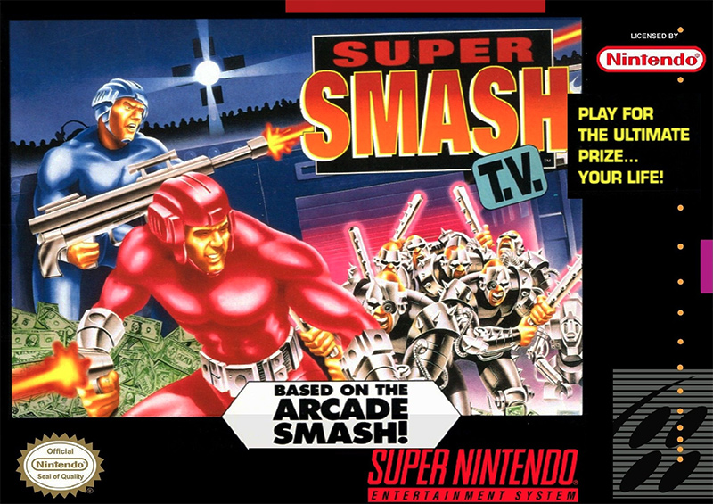 Game cover for Super Smash T.V.