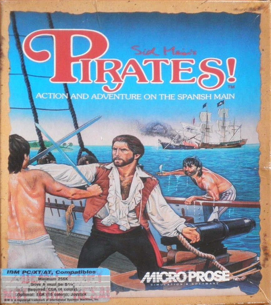 Game cover for Sid Meier's Pirates!