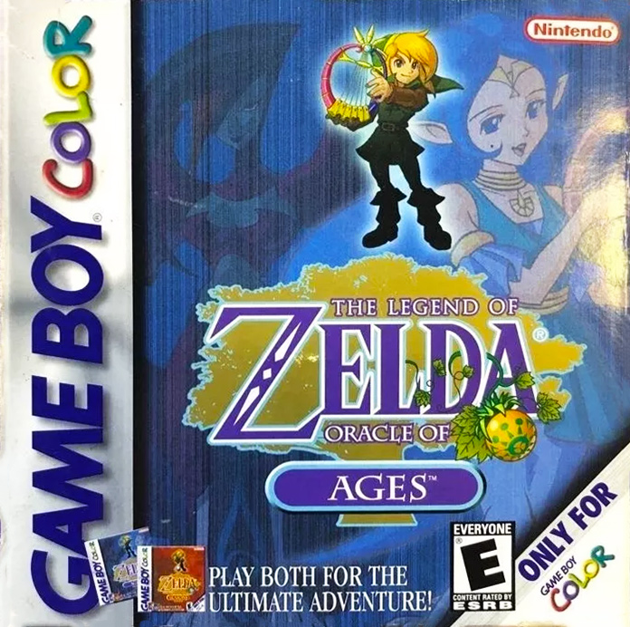 Game cover for The Legend of Zelda: Oracle of Ages