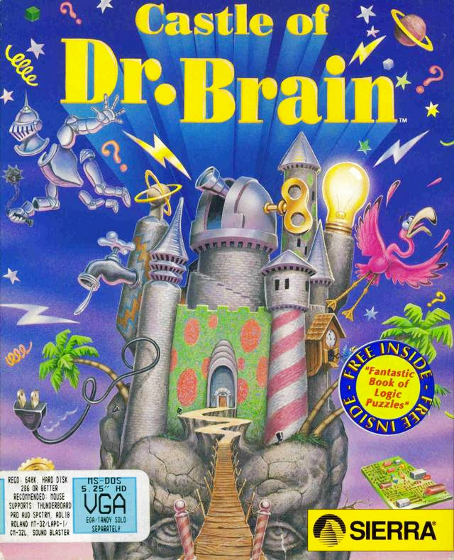 Game cover for Castle of Dr. Brain