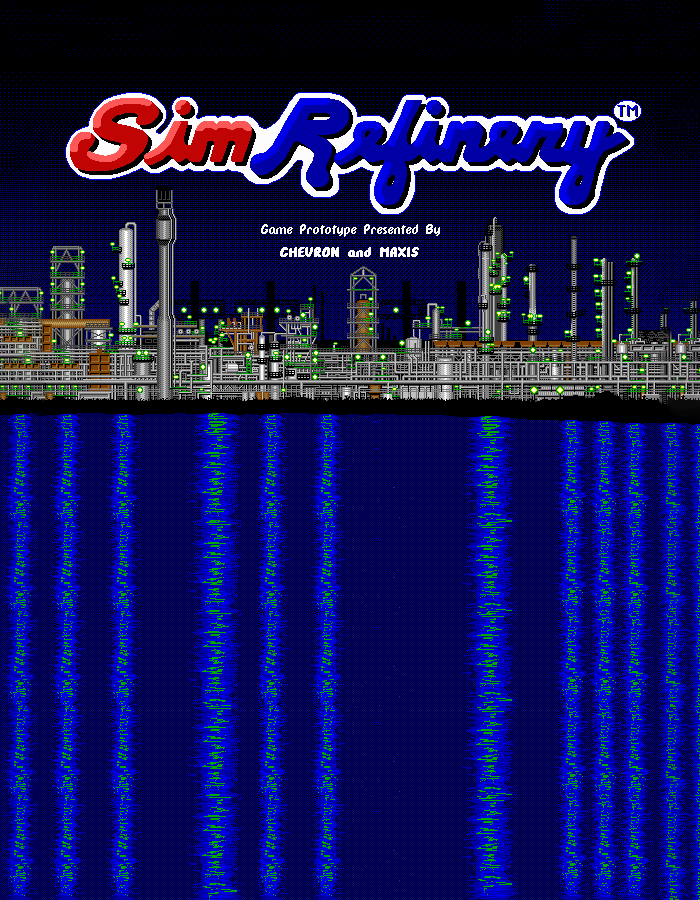 Game cover for SimRefinery