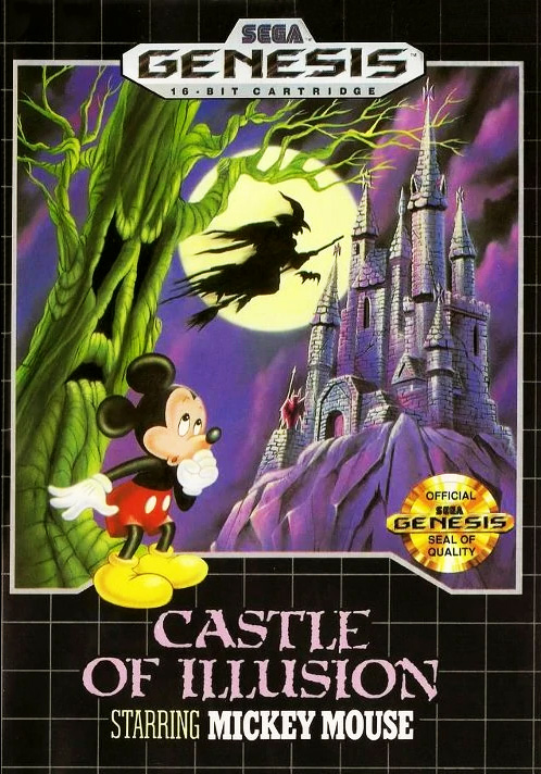 Game cover for Castle of Illusion starring Mickey Mouse