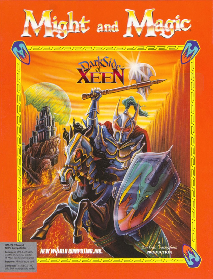 Game cover for Might and Magic: Darkside of Xeen