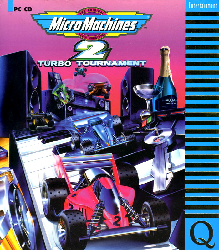 Game cover for Micro Machines 2: Turbo Tournament