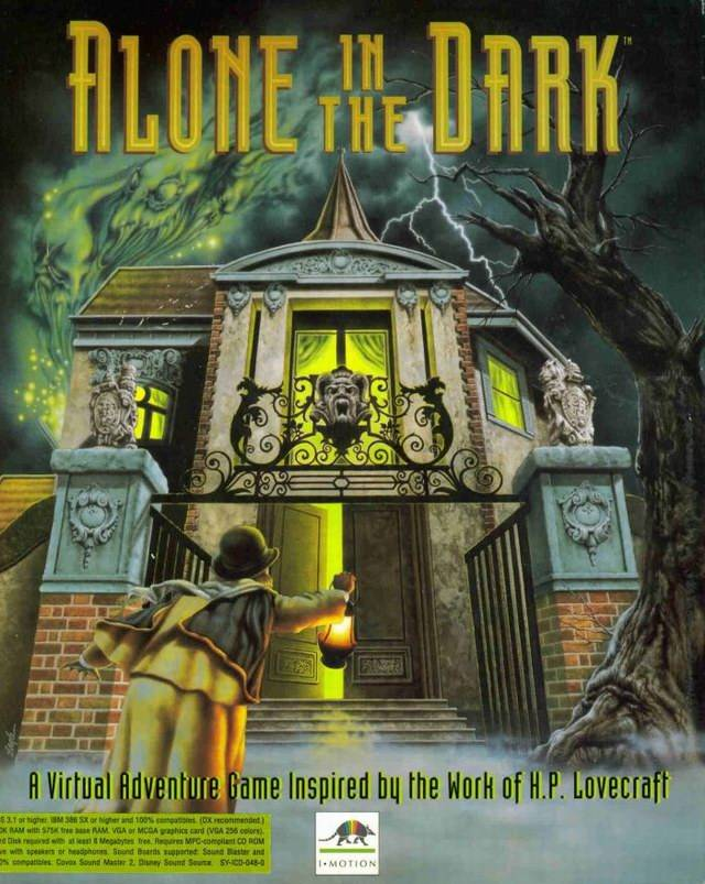 Game cover for Alone in the Dark