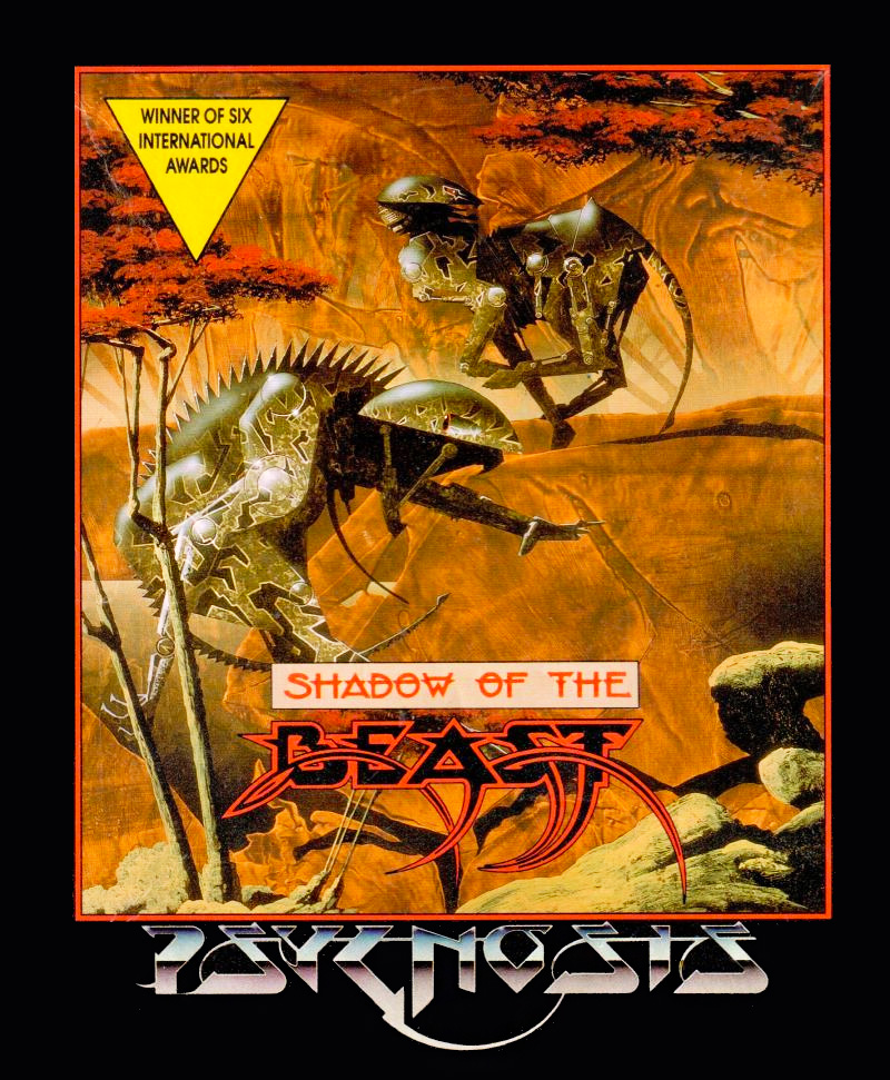 Game cover for Shadow of the Beast