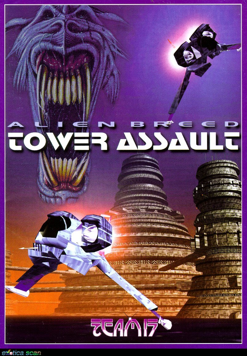 Game cover for Alien Breed: Tower Assault