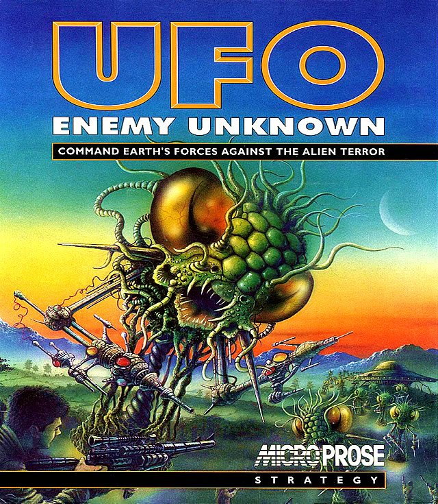 Game cover for UFO: Enemy Unknown