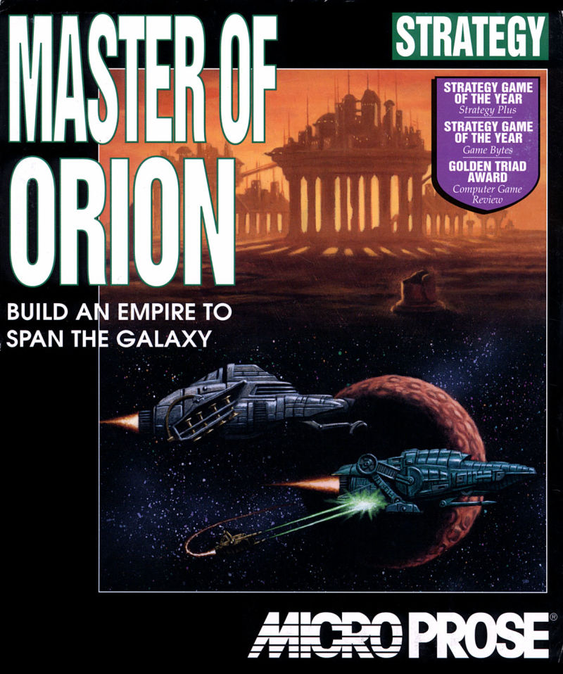 Game cover for Master of Orion