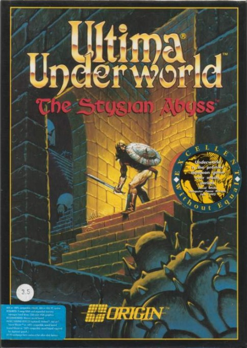 Game cover for Ultima Underworld: The Stygian Abyss