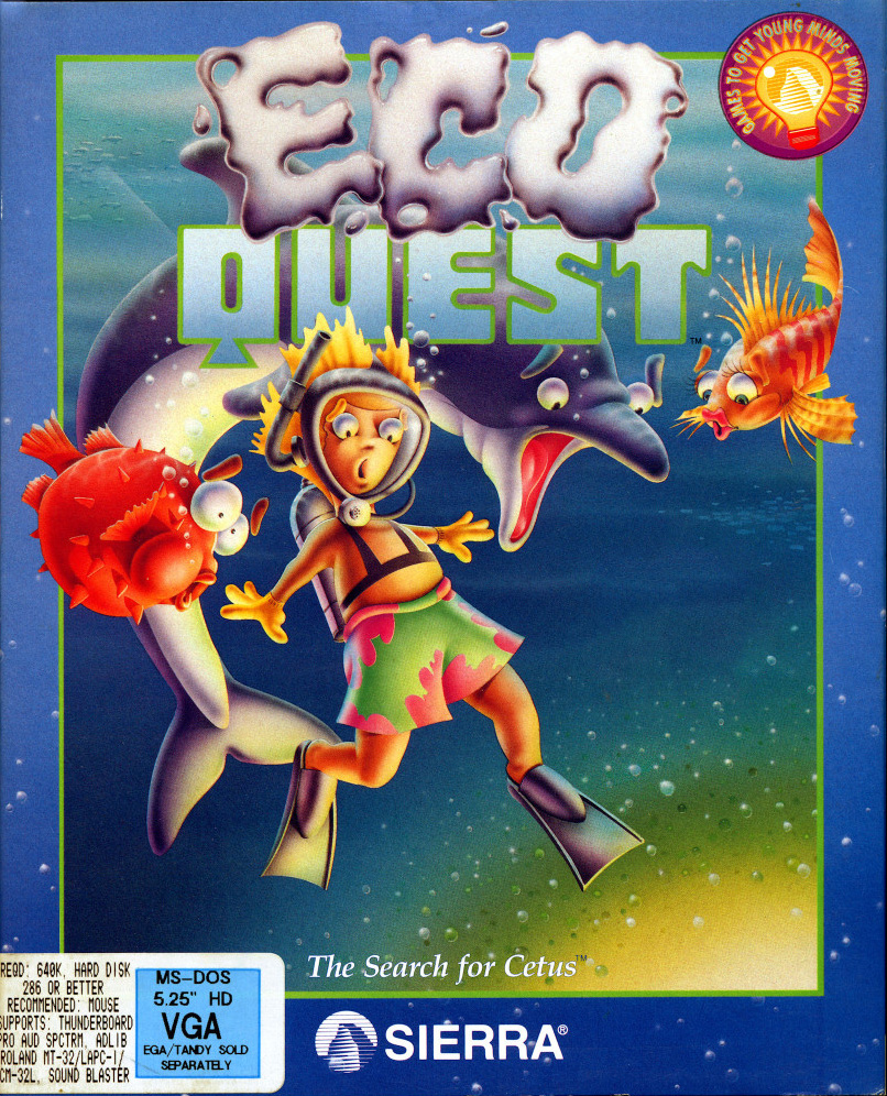 Game cover for EcoQuest: The Search for Cetus