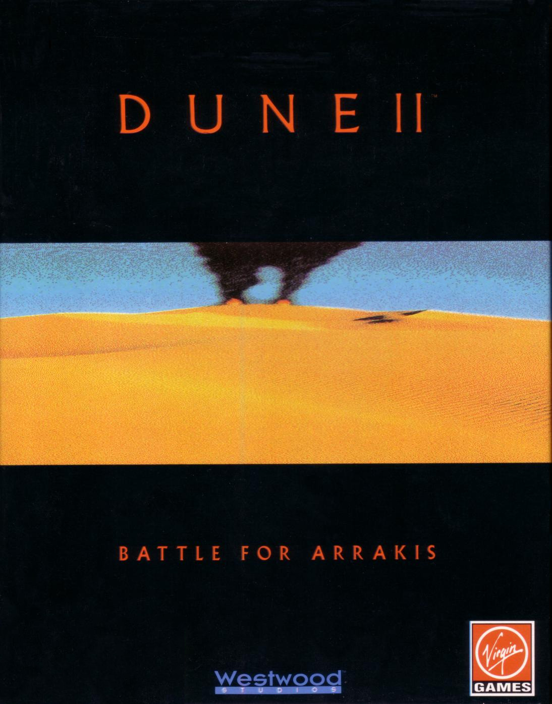 Game cover for Dune II: The Building of a Dynasty