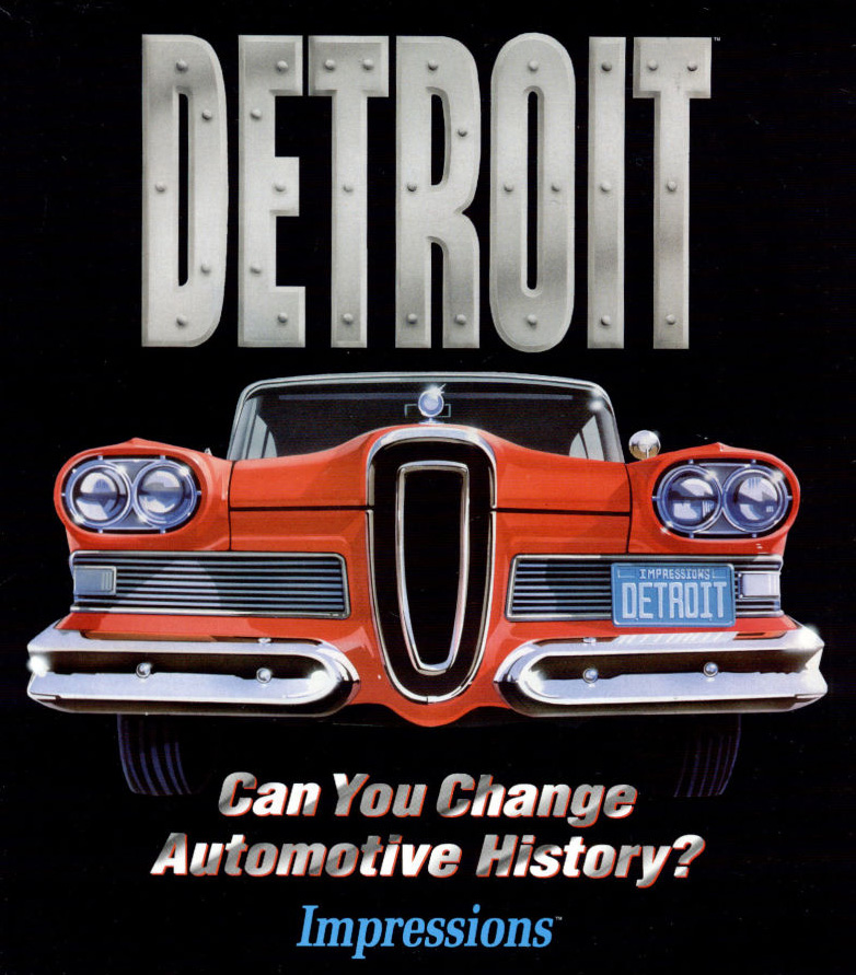 Game cover for Detroit