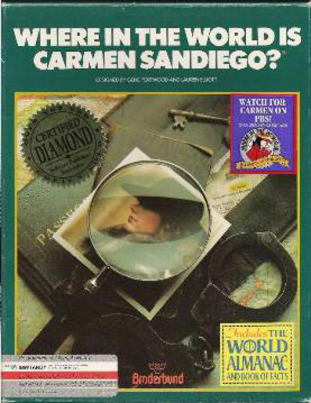 Game cover for Where in the World is Carmen Sandiego? (Deluxe)